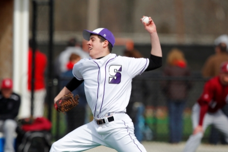 Junior Corey Gorman went the distance in the second game as Scranton swept Susquehanna in a doubleheader on Saturday afternoon.