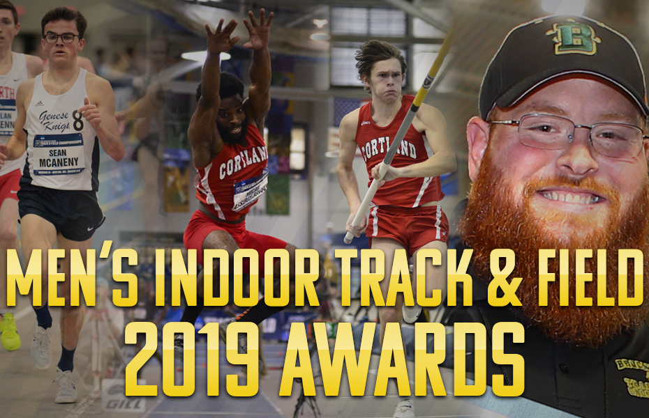 SUNYAC announces Men's Indoor Track & Field yearly awards