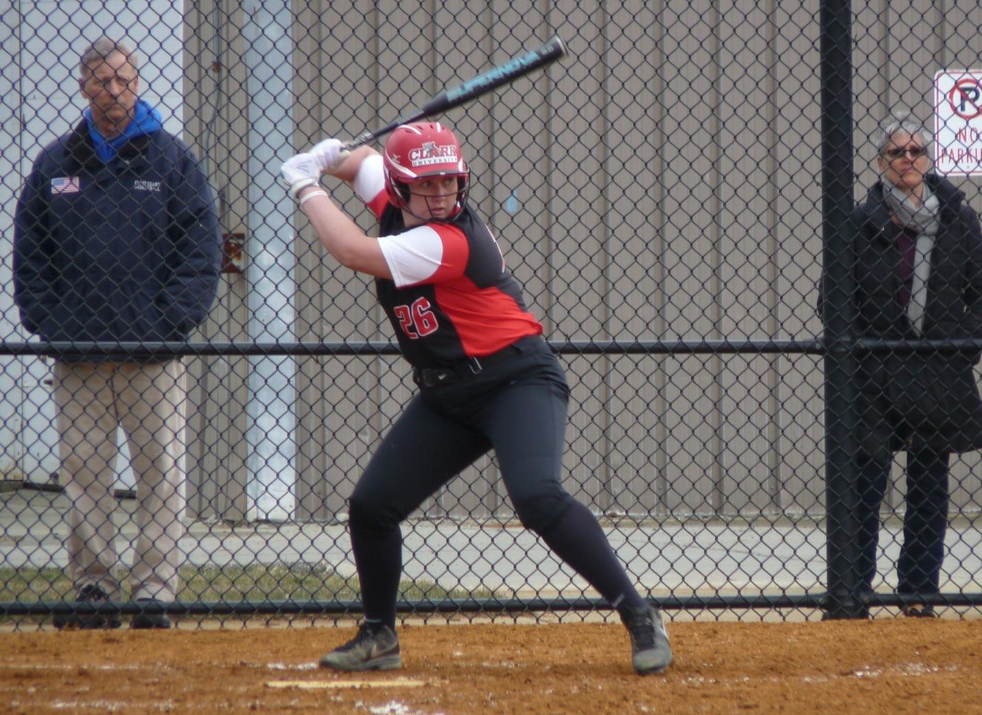 Softball Suffers Two Setbacks at Wellesley