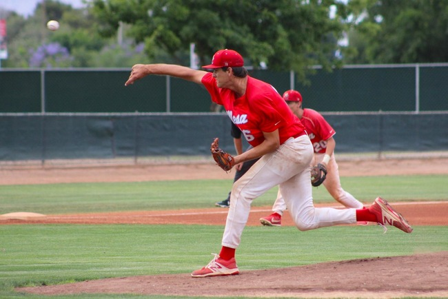 Robinson Throws Complete Game Gem, #1 Mesa Wins 3-0 in Game One