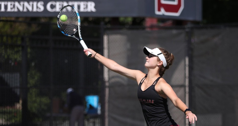 Women's Tennis Concludes Play at SMC Fall Invite on Sunday