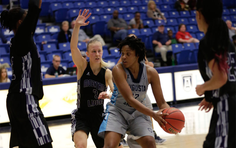 Augusta Holds Off Young Harris, 51-48, In Peach Belt Win