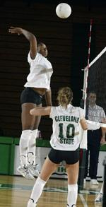 Volleyball Falls To UW-Green Bay