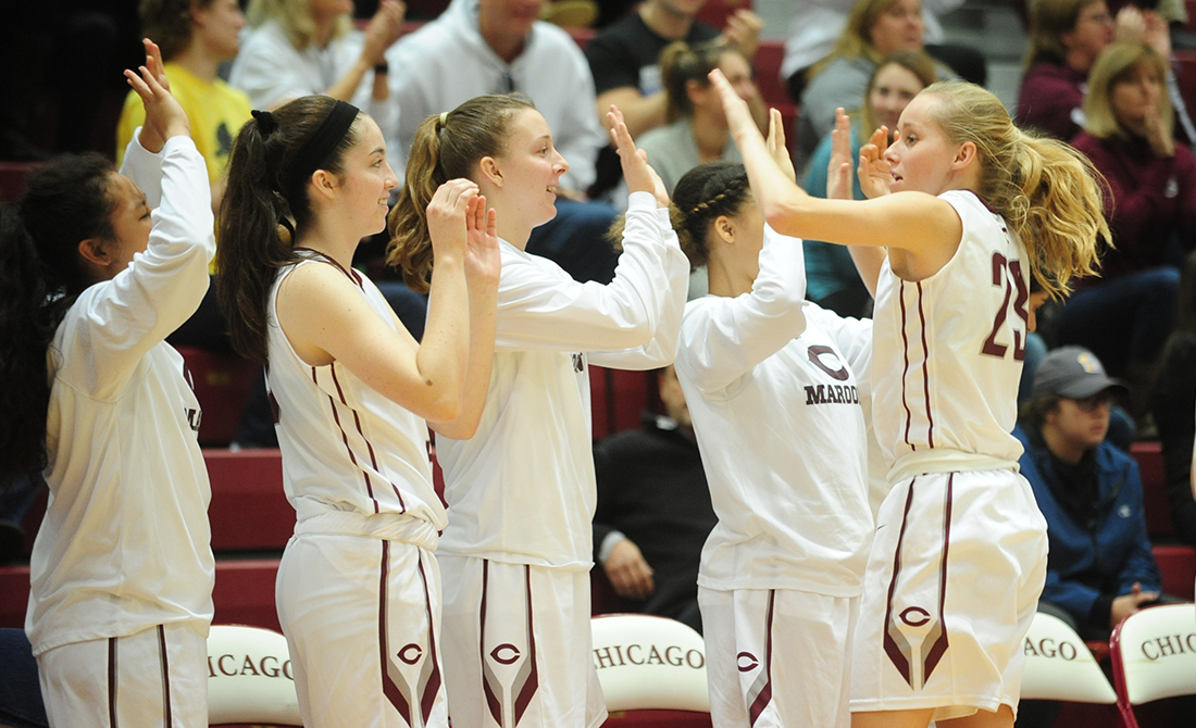UChicago Women's Hoops Downs Emory, 79-61, to Capture 13th-Straight Game