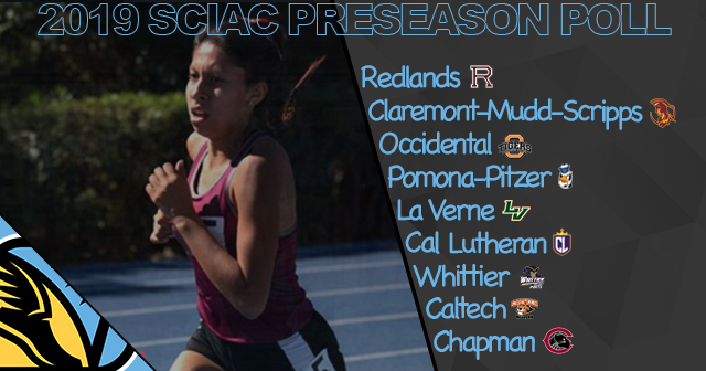 Redlands Slated to Finish First in SCIAC Women's Outdoor Track & Field Preseason Poll