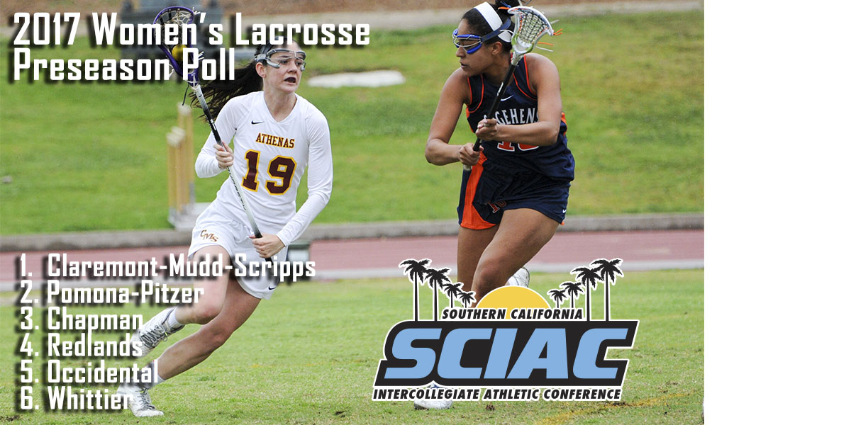 CMS Picked as 2017 SCIAC Women's Lacrosse Preseason Favorite