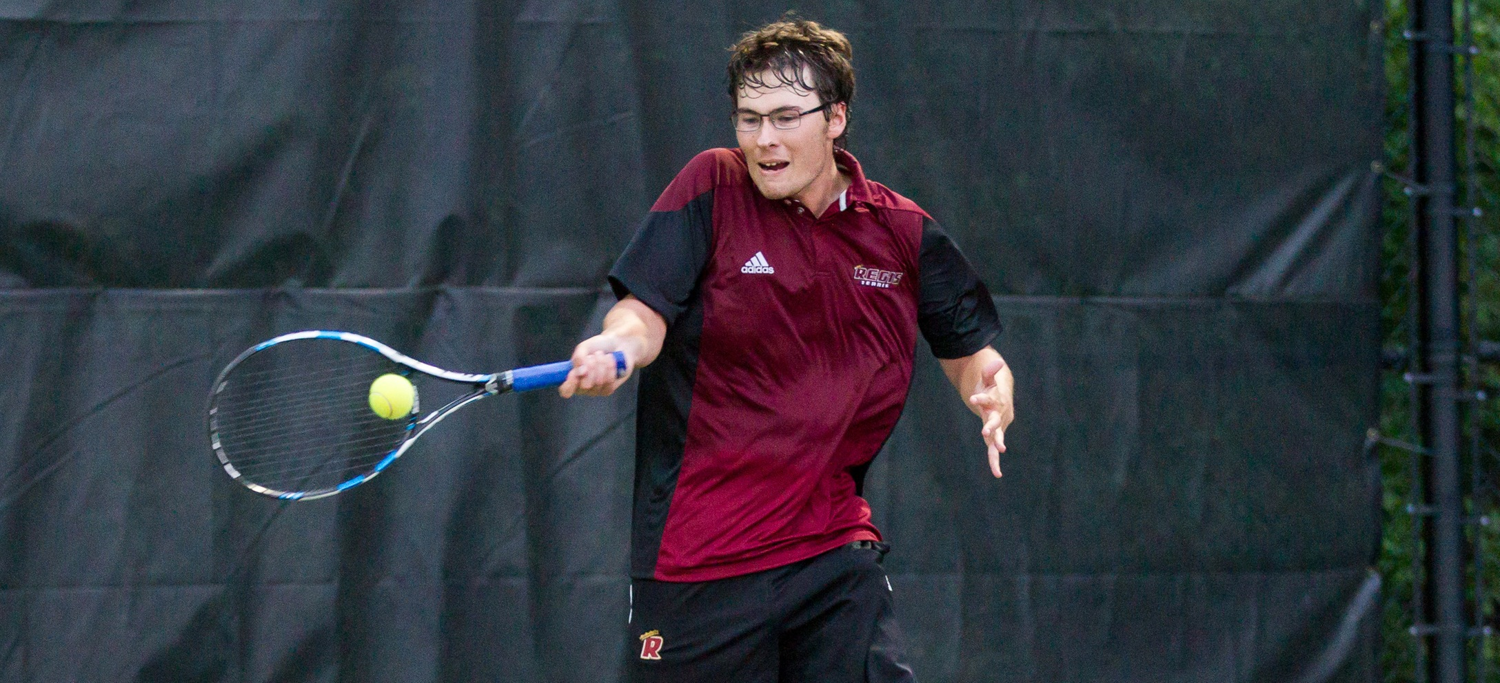 Men's Tennis Downs Emerson for First Win