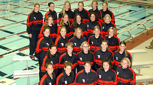 2002-03 Wittenberg Women's Swimming and Diving