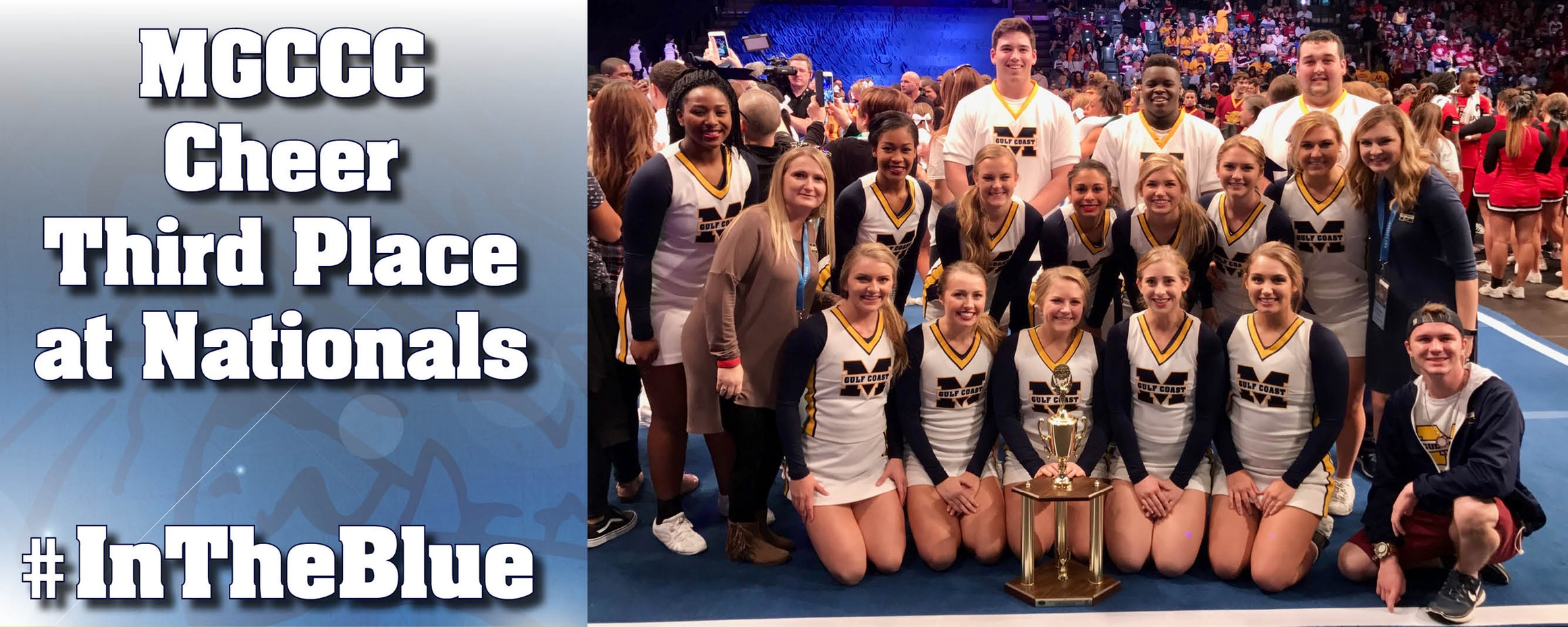 MGCCC finishes third in country