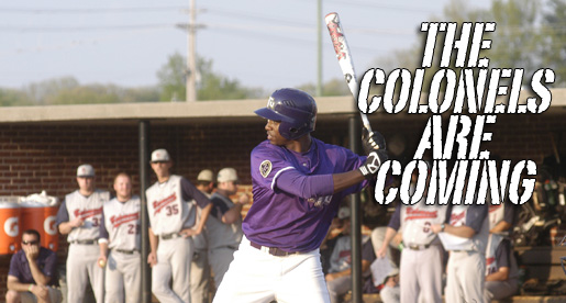 Colonels come to Cookeville; Tech hosts this weekend's OVC series