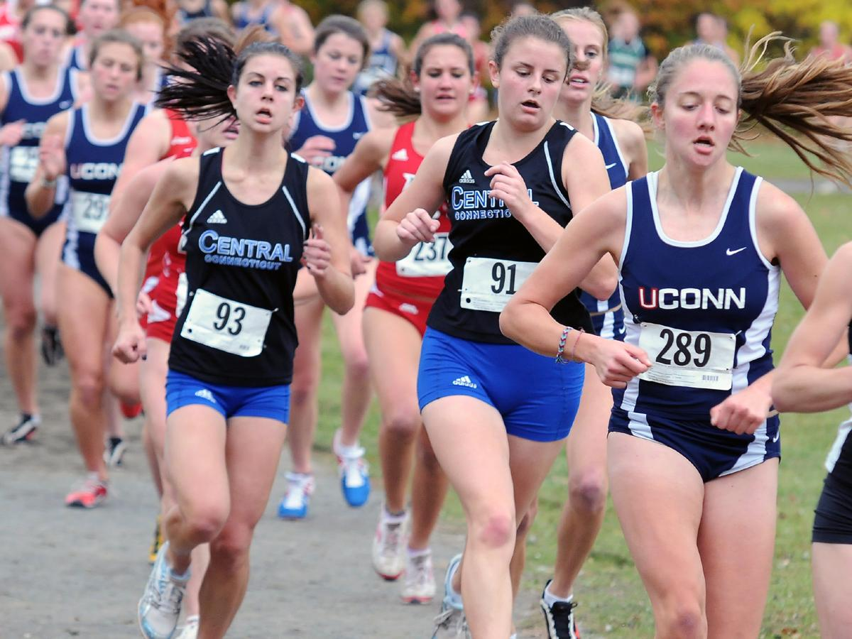 CCSU Women's XC Runs at NCAA Northeast Regionals