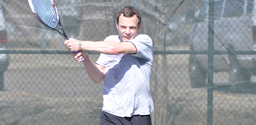 Eagles Fly Past Linfield College 7-2 In Men's Tennis Action