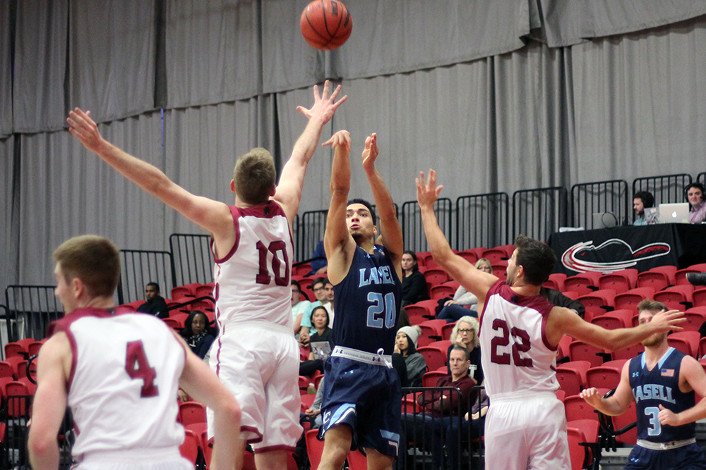 #11 MIT too strong for Lasell Men's Basketball