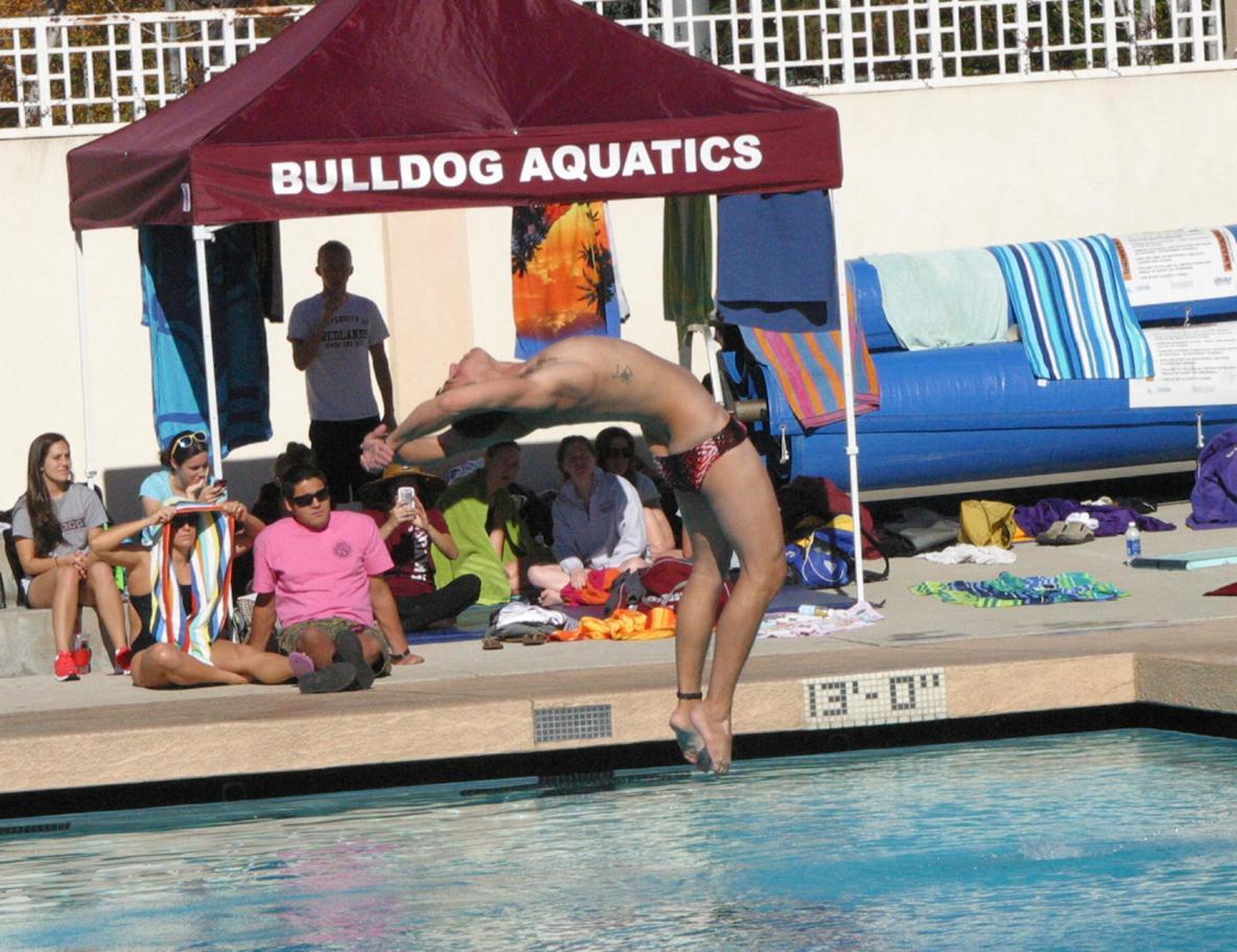 redlands swim meet