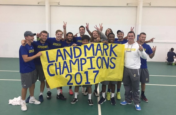 Men's Tennis Punches Ticket to NCAA Tournament With Second Consecutive Landmark Championship