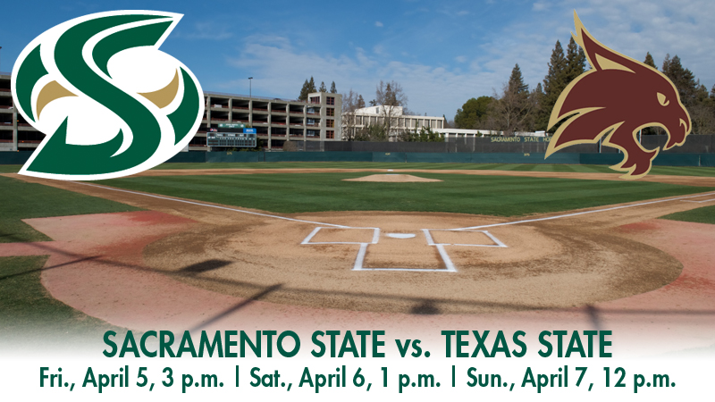 BASEBALL HOSTS TEXAS STATE FOR WAC SERIES