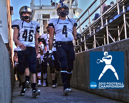 2013 NCAA Division III football tournament Gallaudet vs. Hobart first round information