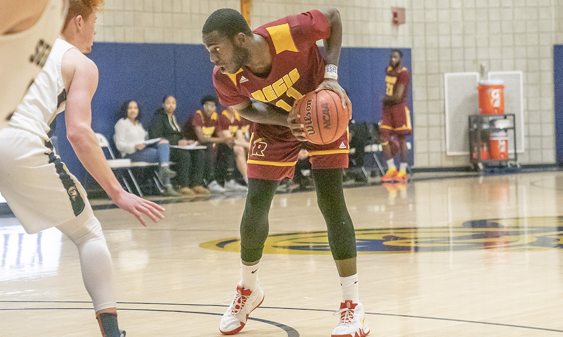 Regis Men's Basketball Loses GNAC Road Contest