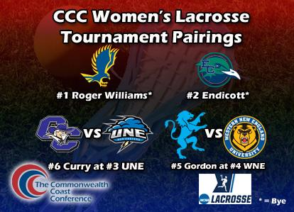 Women's Lacrosse Claims #5 Seed in CCC Quarterfinals