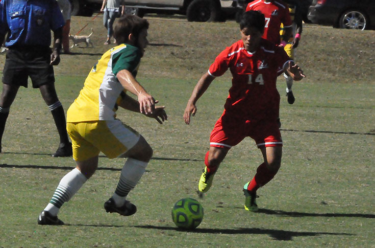 Men's Soccer: Methodist pulls away in second half to down Panthers in USA South contest
