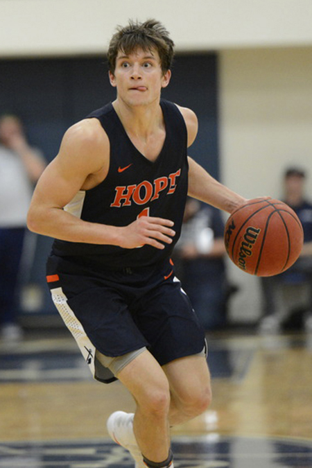Jason Beckman, Hope, Men's Basketball Player of the Week 2/26/18
