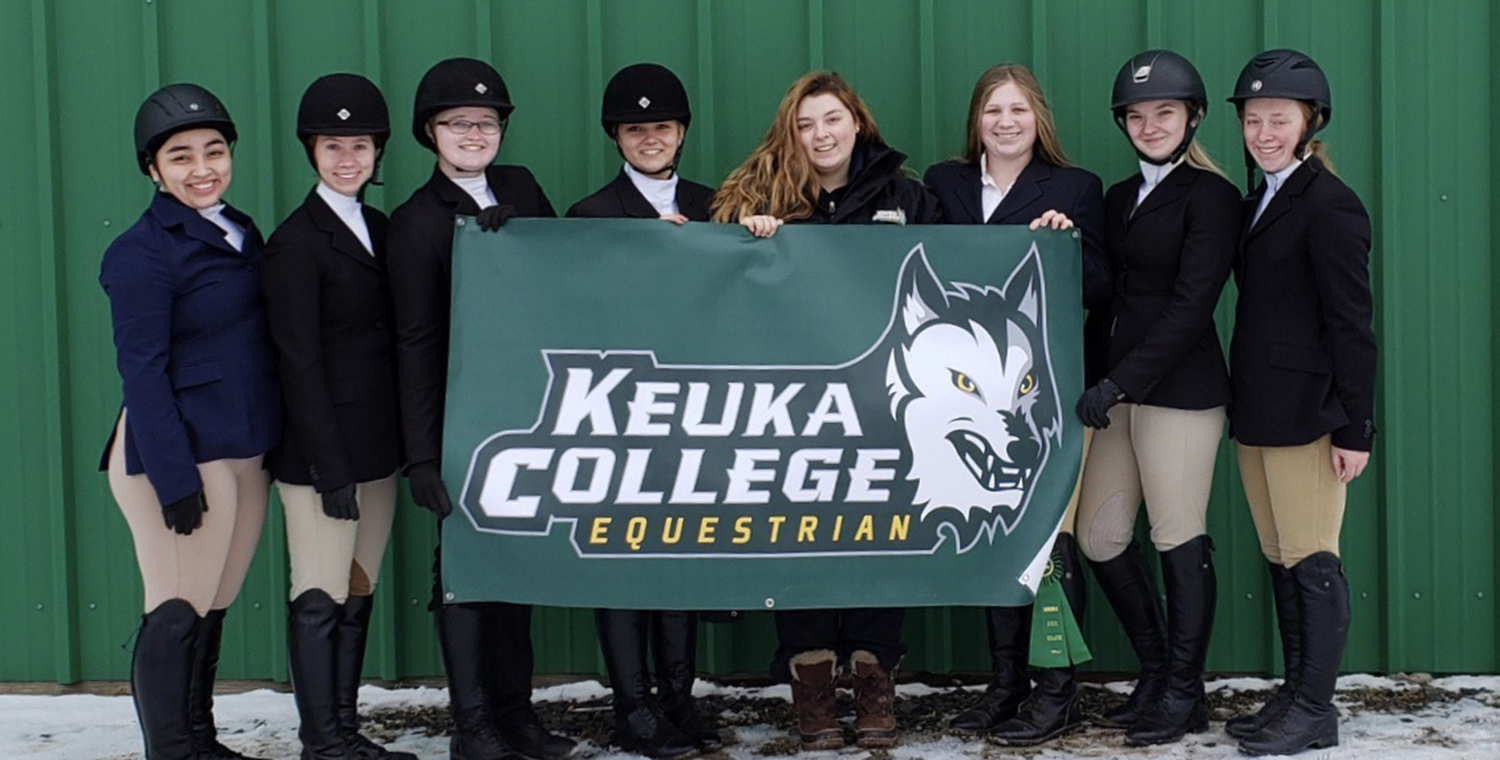 Keuka College Equestrian Has Season-Best Show at Morrisville