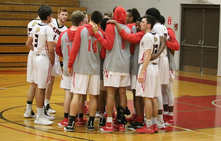 Men's Basketball Falls at New England College, 73-59