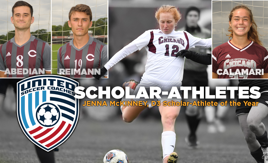 Jenna McKinney Earns USC Scholar Player of the Year, UChicago Soccer Pulls in Scholar All-America and All-Region Awards