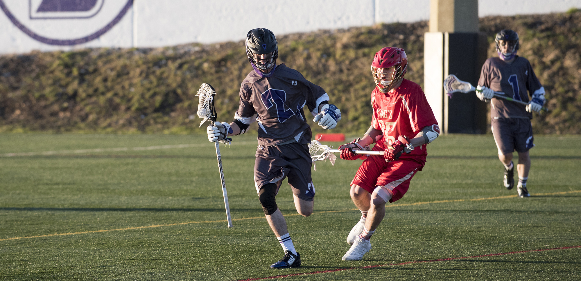 Junior midfielder William Joyce had two assists on Wednesday night.