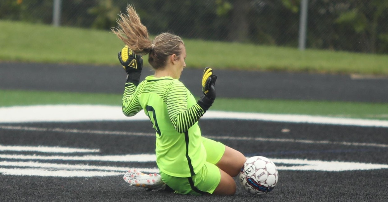 Anheuser with 15 saves in 2-0 loss at Adrian