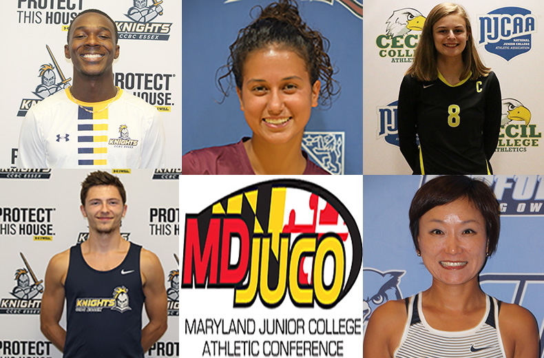 Maryland JUCO Names October Athletes of the Month