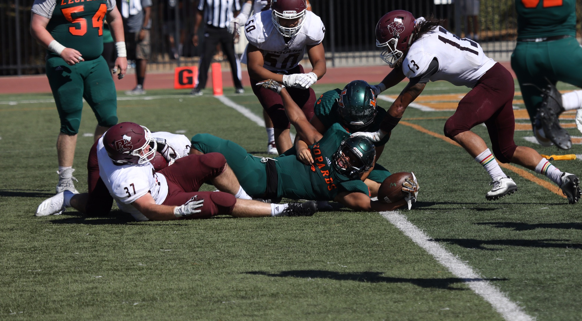 Football falls to Puget Sound at home