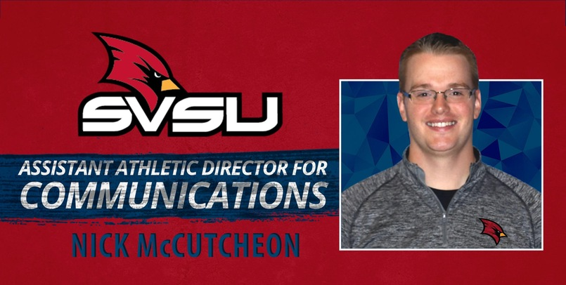 SVSU welcomes new Assistant AD for Communications Nick McCutcheon