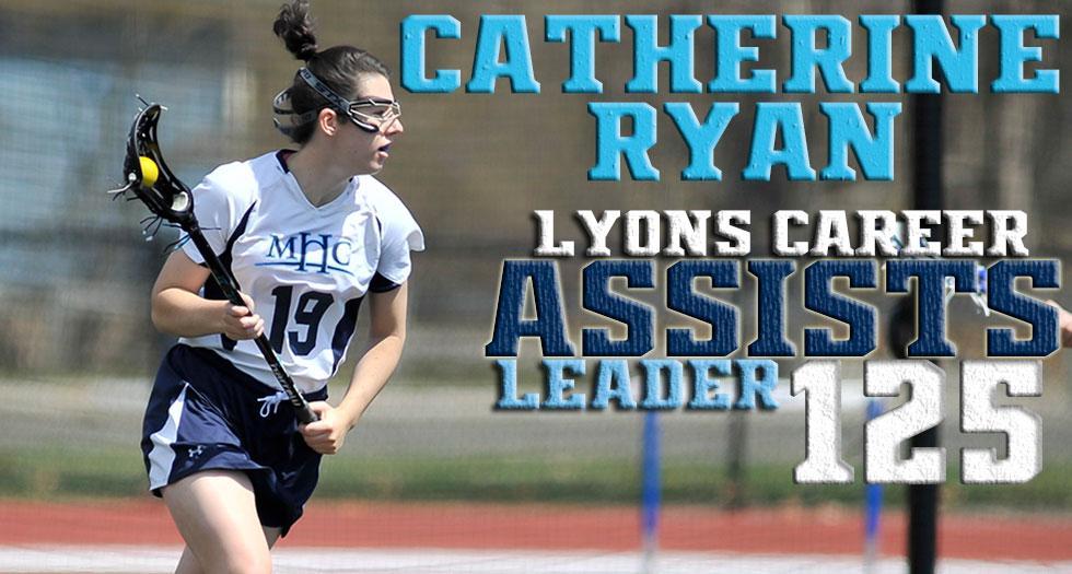 Lacrosse Defeats Falcons, 11-10 in OT; Ryan Become All-Time Leader in Assists