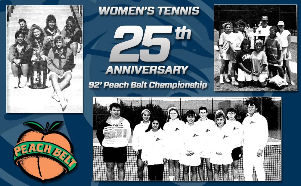 Women's Tennis To Celebrate 25th Anniversary Of First PBC Championship During Homecoming Weekend