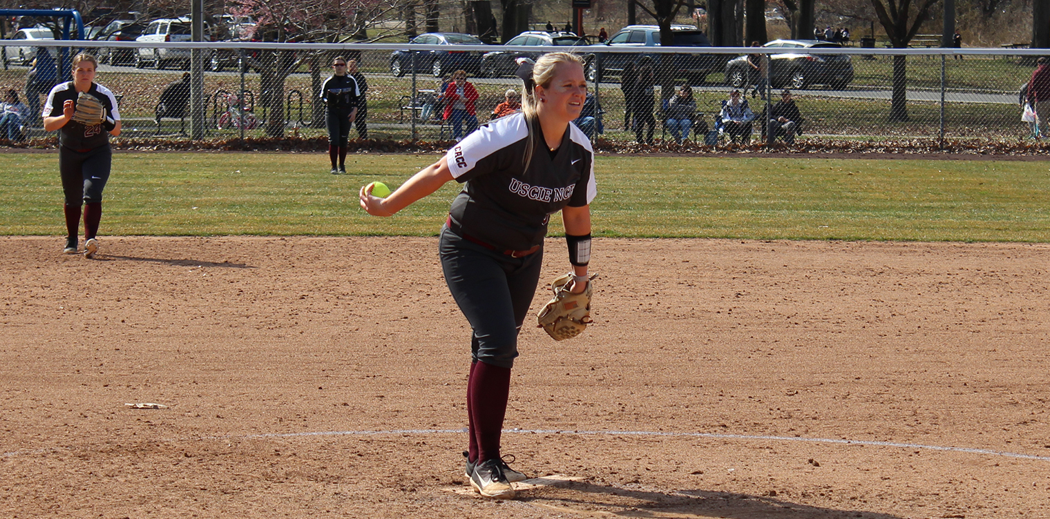 Softball Sweeps Holy Family, 5-4 and 8-0, in Home Finale to Extend Win Streak to Three