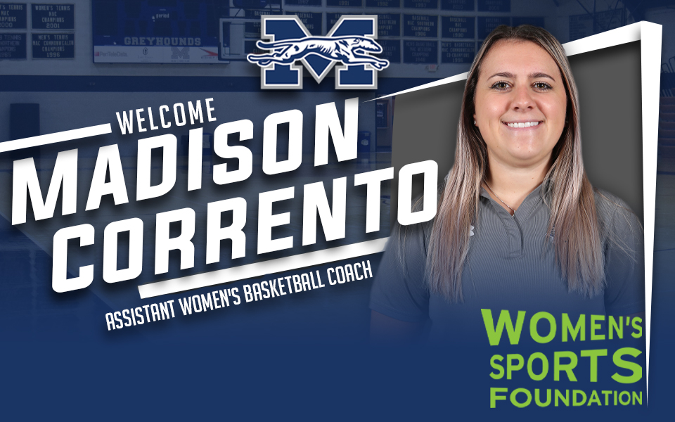 Madison Corrento joins Moravian's women's basketball staff through grant from the Women's Sports Foundation and the Tara VanDerveer Fund.
