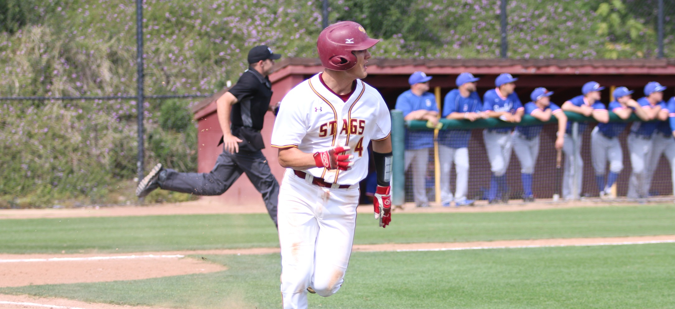 Chapman Takes Two From Stags to Sweep Weekend Series