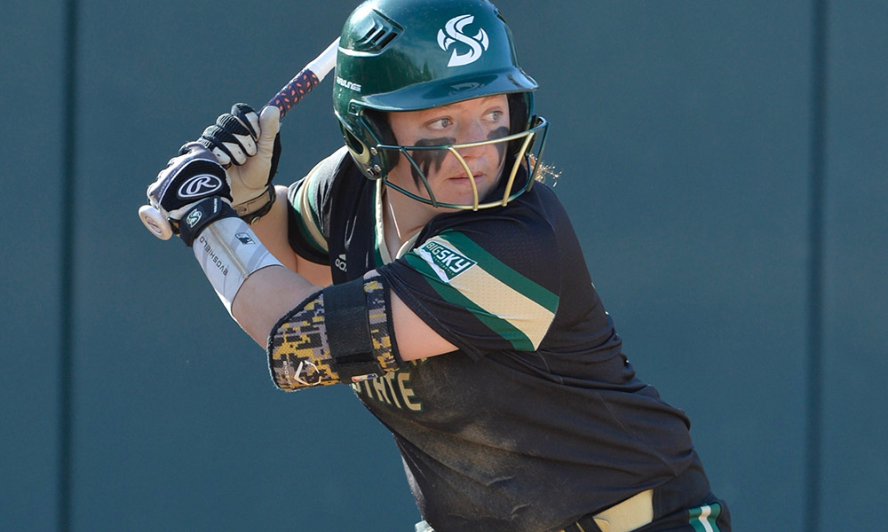 SOFTBALL PLAYS THREE-GAME CONFERENCE SERIES AT WEBER STATE ON FRIDAY-SATURDAY