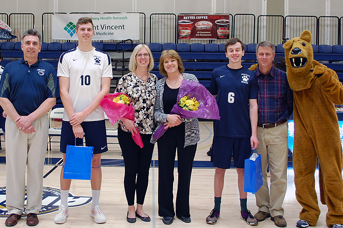 Seniors Help Lions Defeat Hilbert in Three