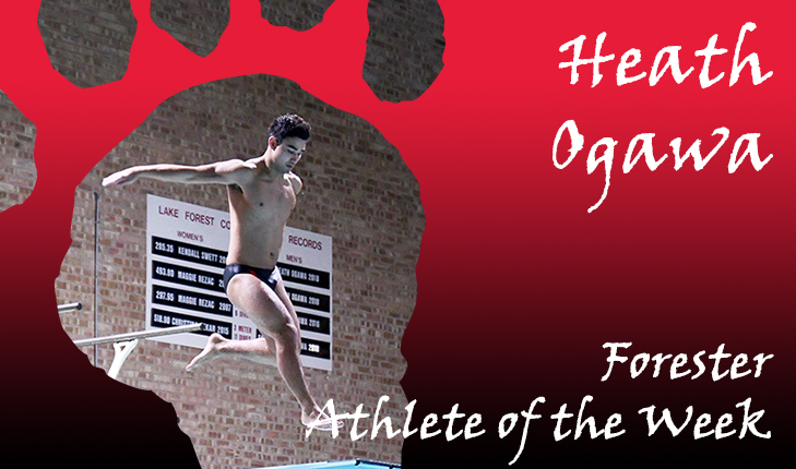 Heath Ogawa Named Forester Athlete of the Week Again