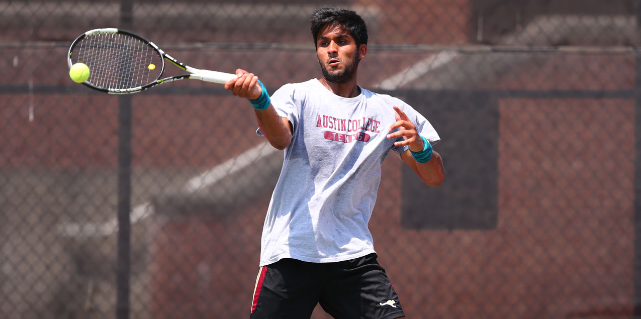 Austin College Moves on to SCAC Men's Tennis Tournament Semifinal