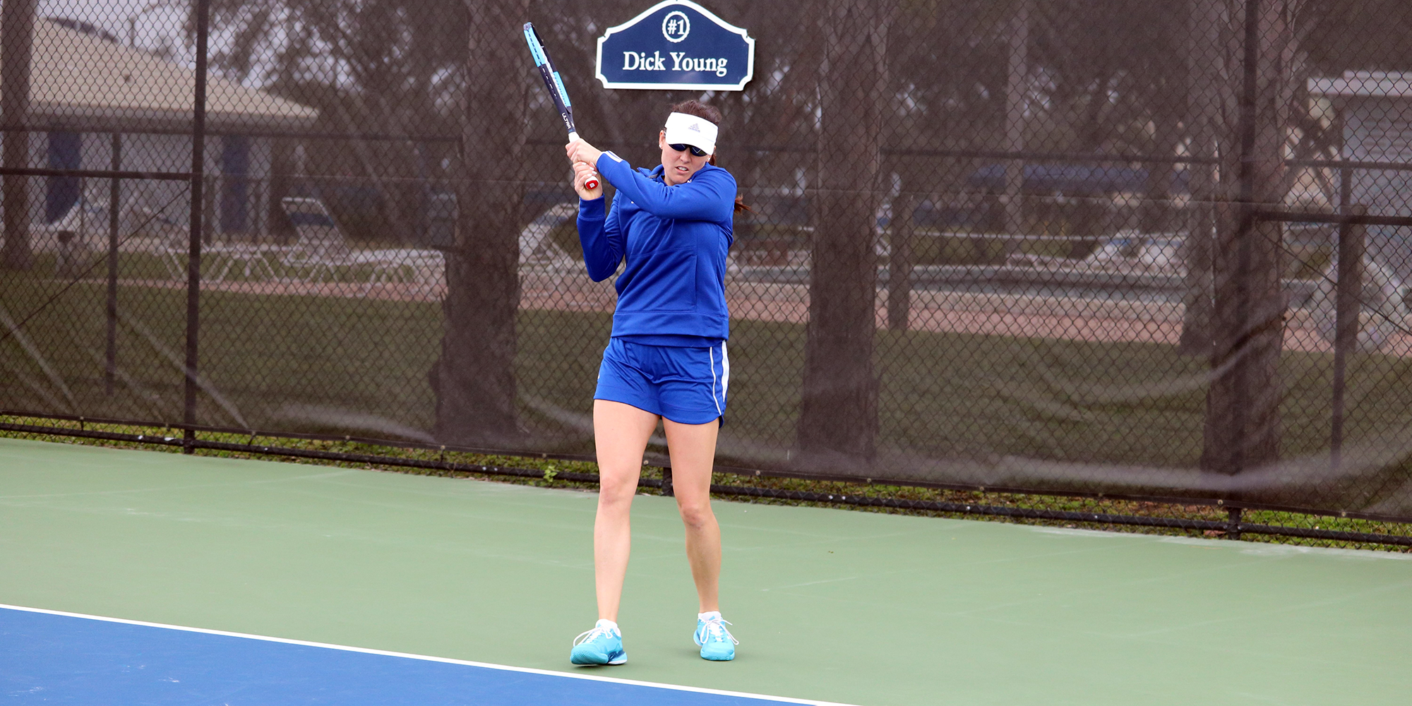Women's Tennis Blanks Blazers in First Road Match