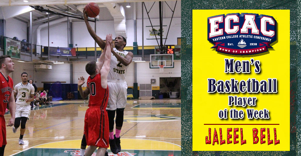 Bell Earns ECAC DIII NE Men's Basketball Player of the Week Honors