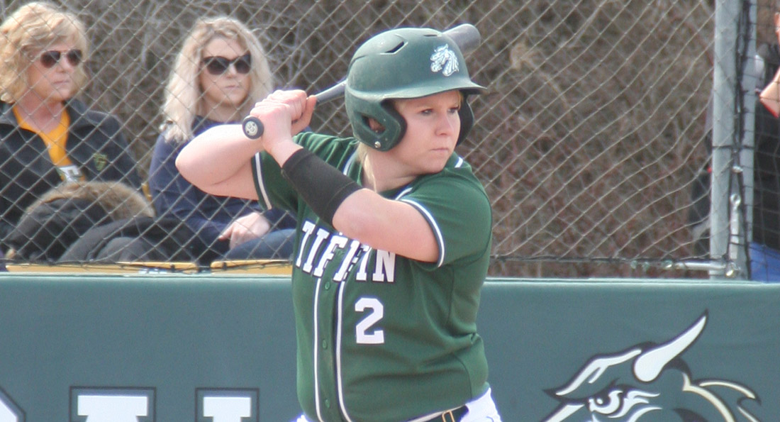 Hayley Kobie had two hits in Tiffin's 3-2 win over Missouri S&T.