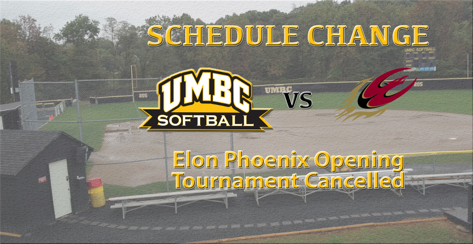 Softball's Games at Elon Phoenix Opening Tournament Get Cancelled