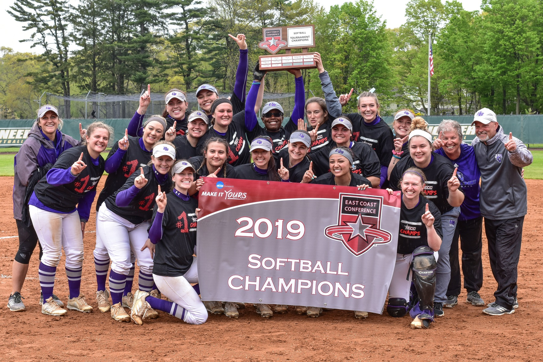 History!!! Purple Knights Earn First-Ever ECC Softball Crown With 3-0 Win Over Top-Seed LIU Post