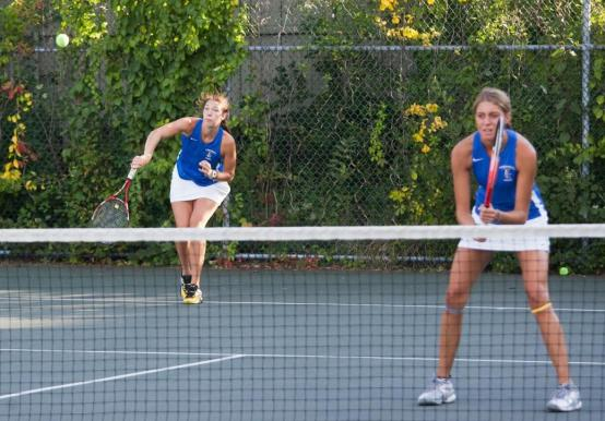 THREE SAINTS VOTED TO TENNIS ALL-CONFERENCE TEAM