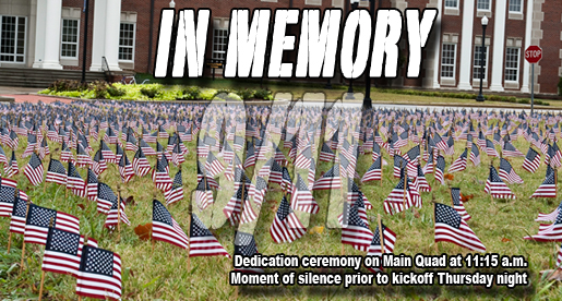 Memorial ceremony, moment of silence planned Thursday for 9/11 victims