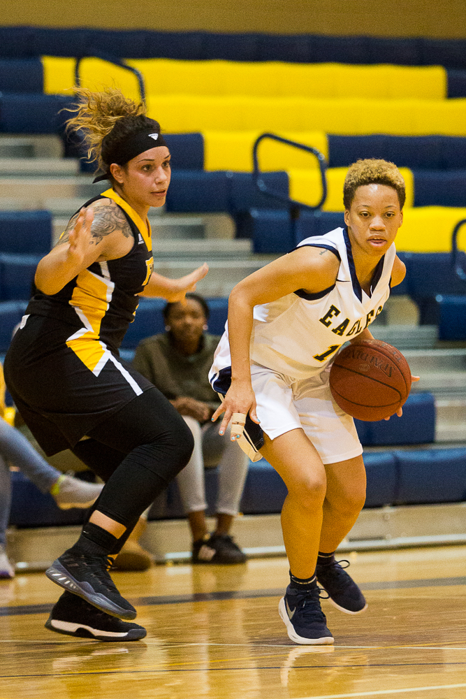 WBB: Sea Devils Tame Eagles in Wilmington